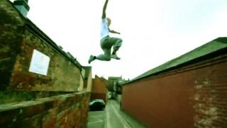 Vidéo Damien Walters Parkour 2010