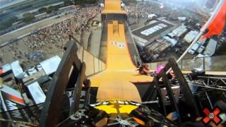 Chute en BMX aux X-Games