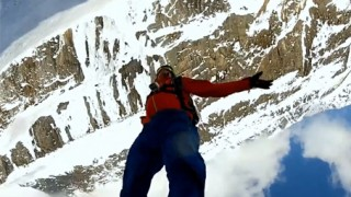 Ski : Double Back Flip Drop : Matthias Giraud
