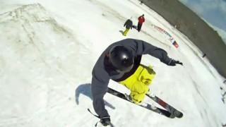 Freestyle en ski