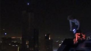 BMX : Ils descendent d'un gratte-ciel !