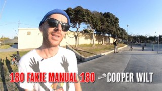 Leçon de Skateboard de Cooper Wilt