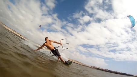 amateur tricks kitesurf