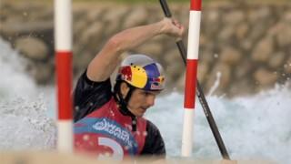 Canoe Kayak : Peter Kauzer fait des slaloms !