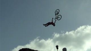 Meilleur trick du Red Bull Berg Line !