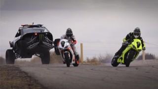 Drift : Motos vs. Voitures