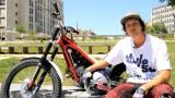 Moto Trial : Julien Dupont à Lyon