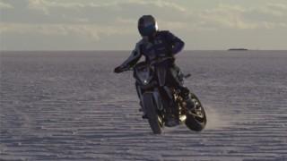 Stunt en Bolivie avec Aaron Colton