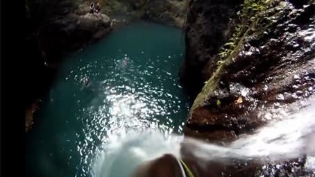 canyoning bali