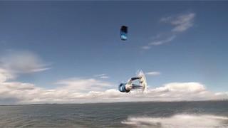 Kitesurf amateur à Carteau