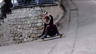 Longboard avec Alexandra Kubiak Ho-Chi !