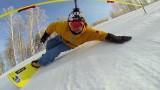Slalom snowboard : Alexander Baskakov en GoPro !