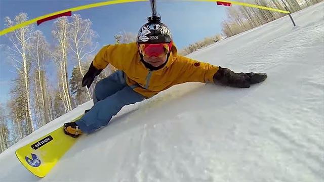 slalom snow