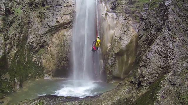 canyoning amateur