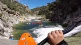 Kayak en Corse : Mehdi et la Team64 !