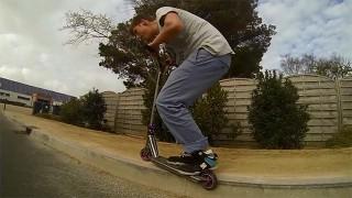 Trottinette Freestyle à Larmor-Plage !
