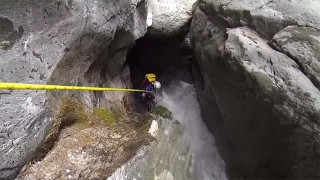 Canyoning au Canyon du Diable !