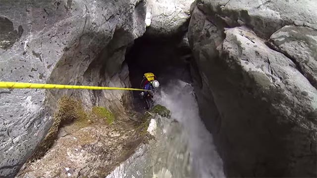 canyoning amateur