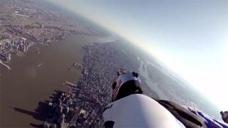 Wingsuit au-dessus de New-York !