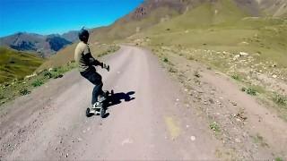 Mountainboard Freeride au Kirghizistan avec Nicolas et Vincent !