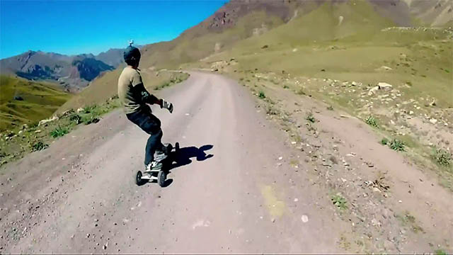 mountainboard amateur