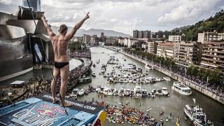 Red Bull Cliff Diving 2014 à Bilbao