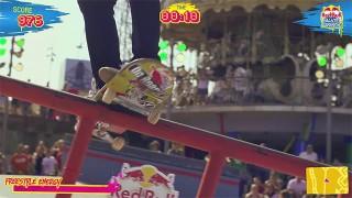 Finale du Red Bull Skate Arcade 2014