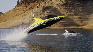 Dauphin robotique et voiture volante : Les nouveaux sports nautiques !