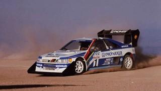 Ari Vatanen et sa Peugeot 405 T16 au Pikes Peak (1988)