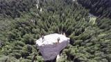 Escalade du Monolithe de Sardières filmé en drone !