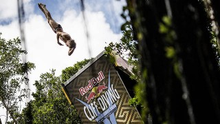 Finale du Red Bull Cliff Diving 2014 à Yucatán
