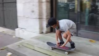 Max Berguin le skateboarder de 9 ans !