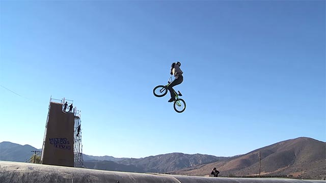 BMX Double Backflip 360