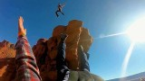 BASE Jump sur les monolithes de Moab