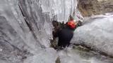 Canyoning hivernal dans le Canyon de la Meije !