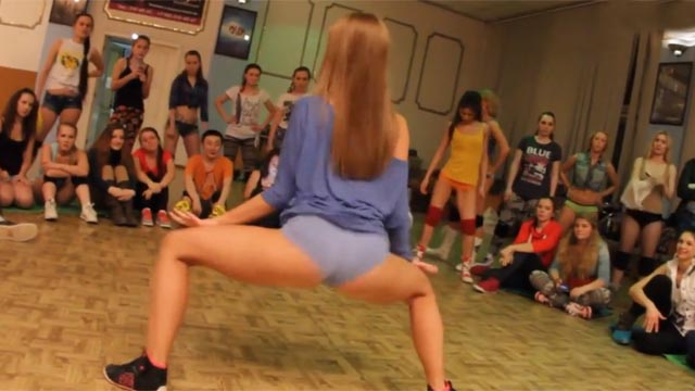 danseuse sexy twerk