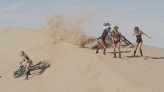 Motocross sur les dunes Algodones !