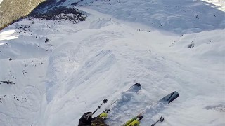 Descente Ski de Tanner Hall en GoPro !