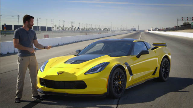 acceleration corvette z06 2015