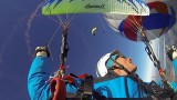 GoPro : Parapente depuis une montgolfière !