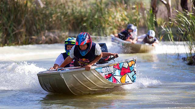 Dinghy Derby 2015 en Australie