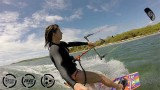 Chloé et Lucas font du Kitesurf en Martinique !