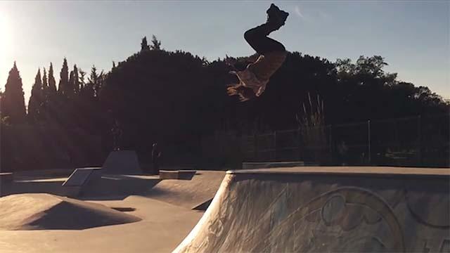 Roller skatepark du sud de la france