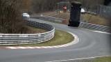 Crash d'une Nissan GT-R Nismo au circuit du Nüburgring