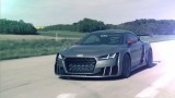 Acceleration de la Audi TT Clubsport Turbo