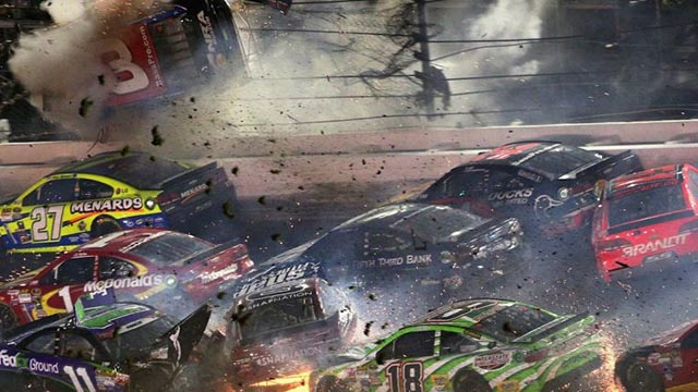 crash nascar austin dillon