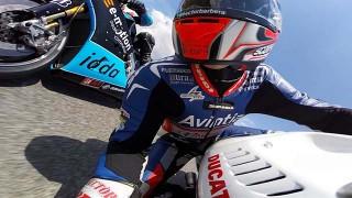 Onboard MotoGP au Grand Prix de Catalogne 2015