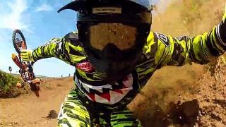 Compilation des pires chutes à motocross