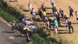 Énorme crash de Robert Consani au Championnat d'Europe des Rallyes !