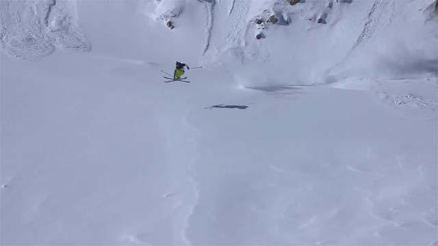 Ski freeride avec Hugo Carraz